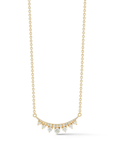 e3471f5a5856 Quick Look. Jemma Wynne · Prive Luxe Diamond Bar Necklace