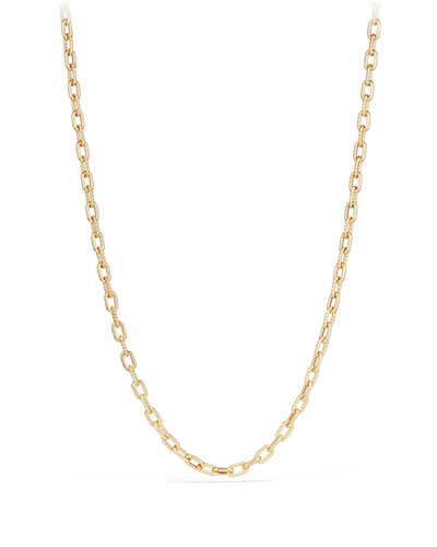 18k Madison Bold Chain Link Necklace, 18