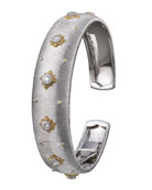 Macri Cuff Bracelet with Diamonds
