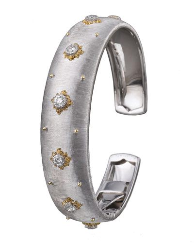 Macri Cuff Bracelet with Diamonds
