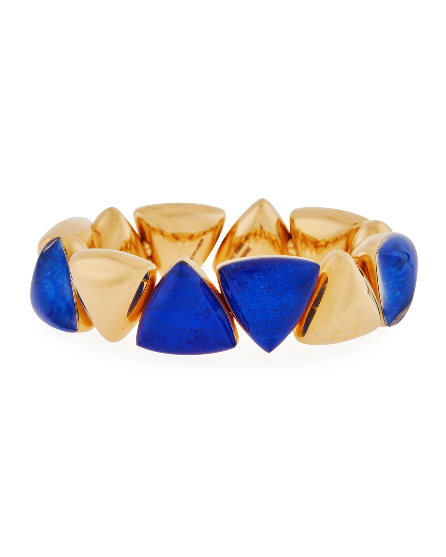 VHERNIER 18K Freccia Lapis Rock Crystal Bracelet