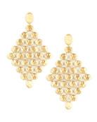 Siviglia 18k Gold Chandelier Earrings