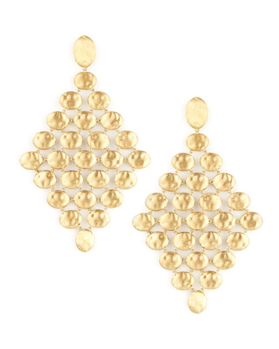 Siviglia 18k Gold Chandelier Earrings