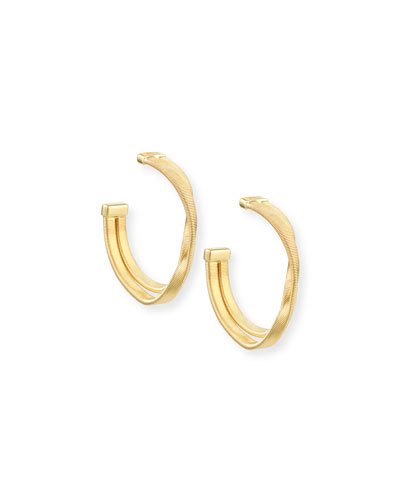 Marco Bicego Marrakech Supreme Two-Strand Hoop Earrings GtnE7GwubJ