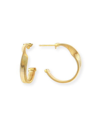 Marrakech Supreme Small Twisted Hoop Earrings