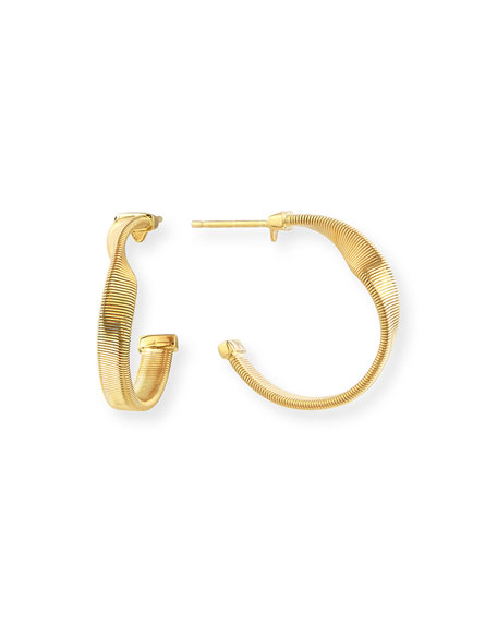 Marco Bicego Marrakech Supreme Small Twisted Hoop Earrings