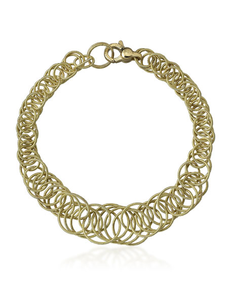 Buccellati Hawaii 18k Gold Interlocking Circle Link Bracelet