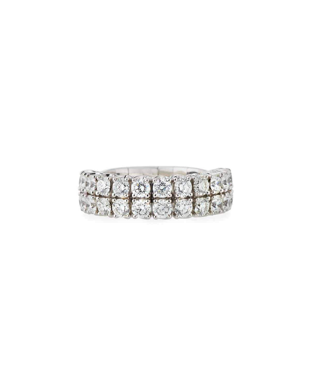 PICCHIOTTI 18K EXPANDABLE ROUND DIAMOND RING, 2.26TCW