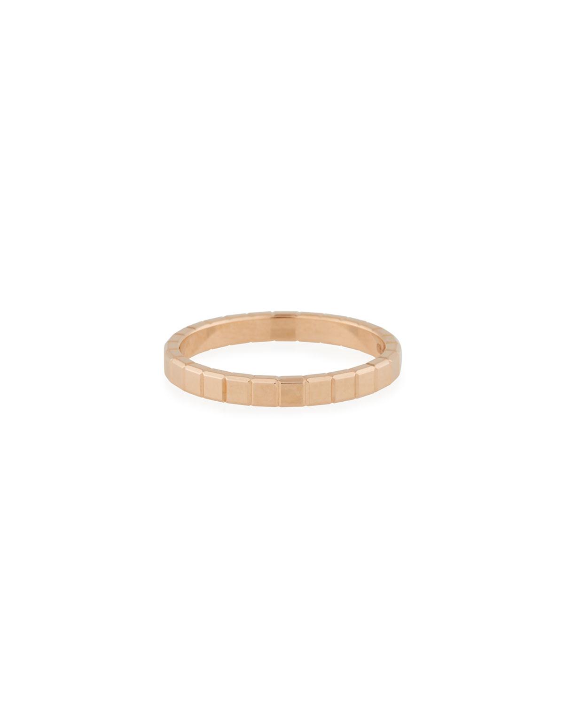 18k Rose Gold Ice Cube Ring