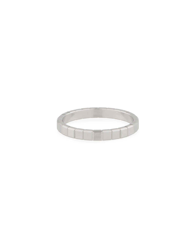 18k White Gold Ice Cube Ring