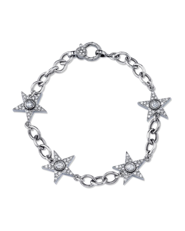 DIAMOND STAR ETERNITY BRACELET