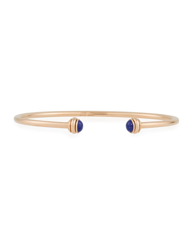 PIAGET Possession Lapis Lazuli & 18K Rose Gold Open Bangle