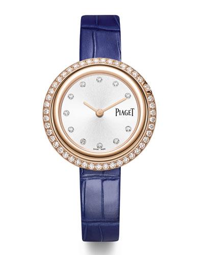 18k Possession Watch w/ Diamonds