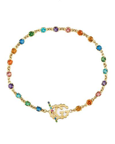 18k GG Running Chain Bracelet