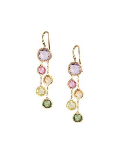 18k Jaipur Rainbow Drop Earrings