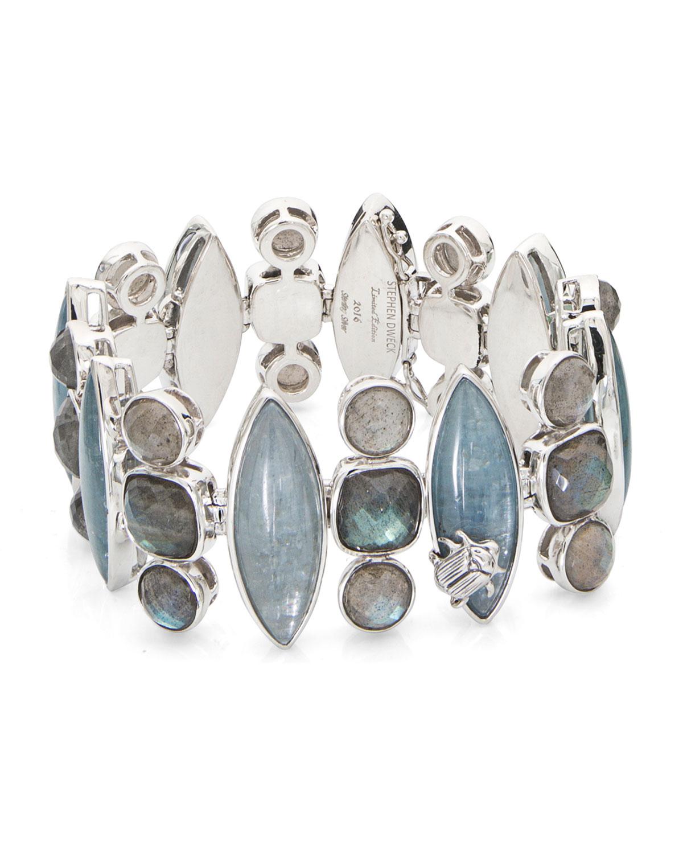 STEPHEN DWECK One-Of-A-Kind Labradorite & Kyanite Bracelet