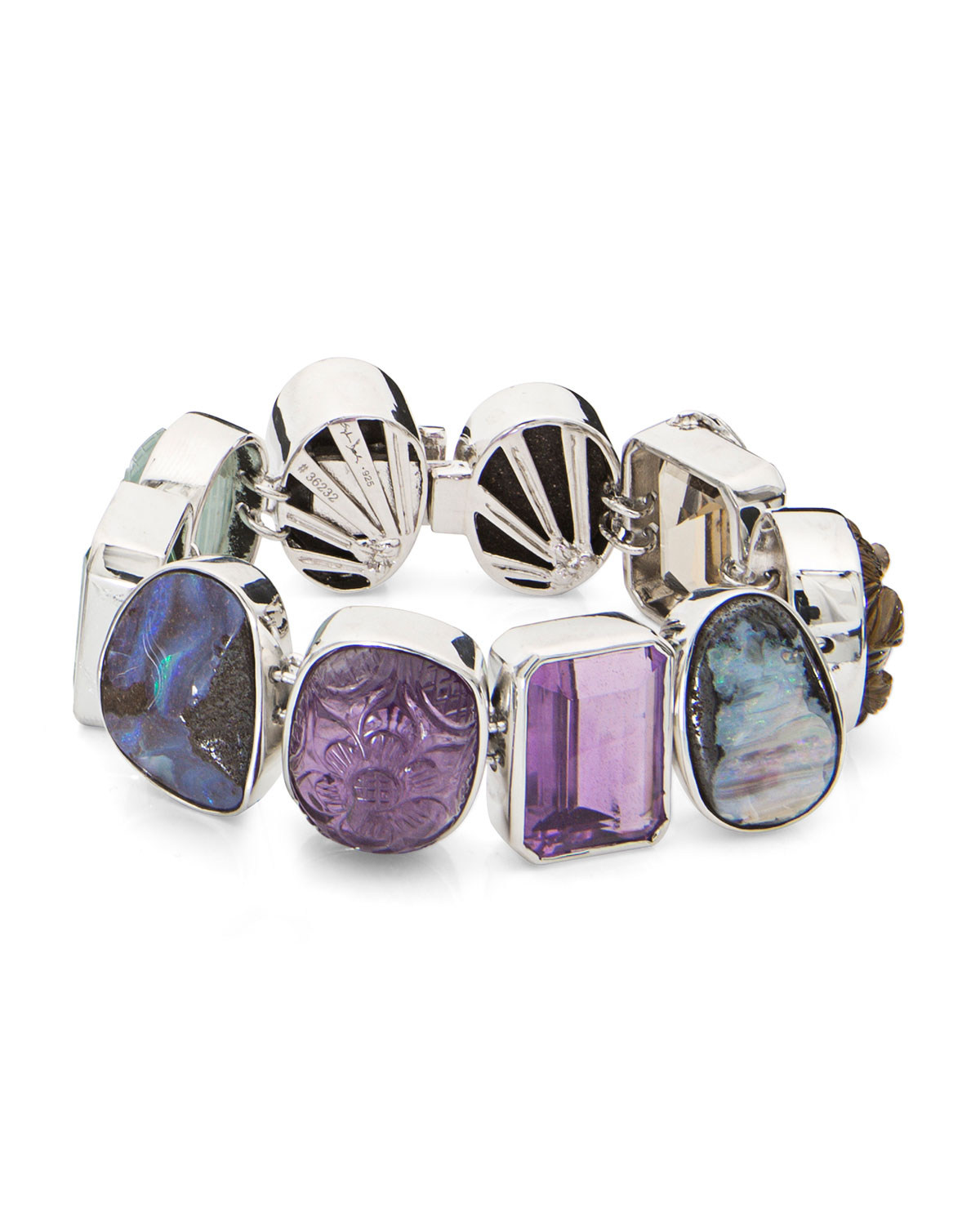 STEPHEN DWECK One-Of-A-Kind Mixed-Cut Multicolor Stone Bracelet
