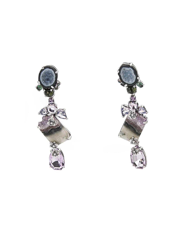 STEPHEN DWECK One-Of-A-Kind Multi-Stone Drop Earrings