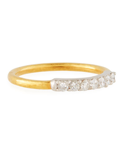 a6b717d79fdf03 Quick Look. Gurhan · 22k Gold Delicate Geo Pave Band Ring ...