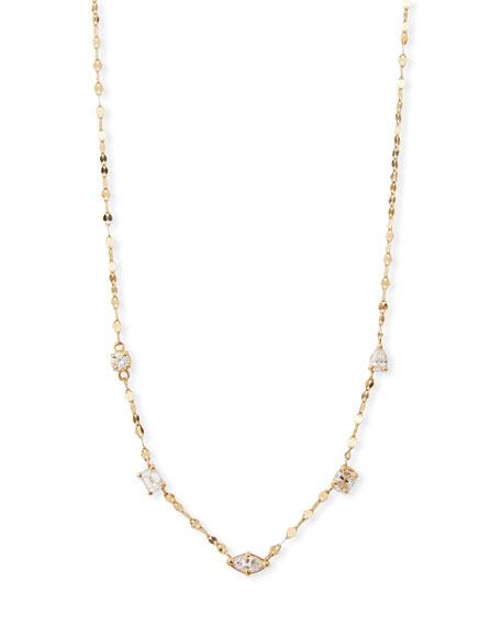 Lana 14k Multi-Shape Diamond Necklace
