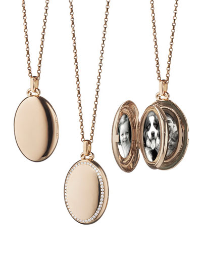 Oval rose gold jewelry neiman marcus quick look aloadofball Image collections
