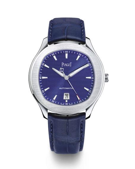 PIAGET Polo S 42mm Watch w/ Alligator Strap