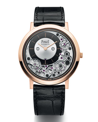 Altiplano Ultimate 41mm Automatic Watch, Rose Gold