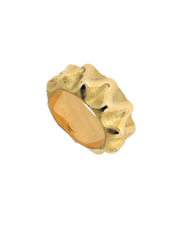 VENDORAFA 18K Gold Wave Bracelet