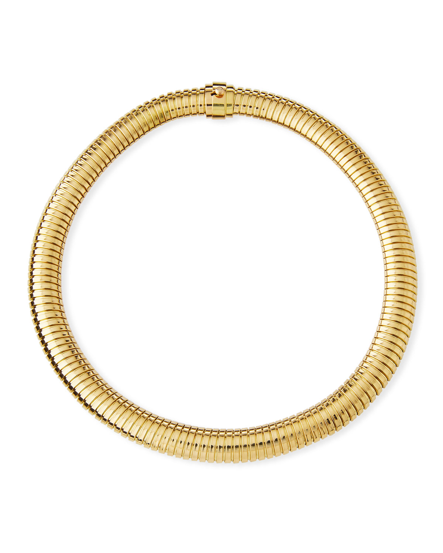 Via Bagutta 18K Gold Simple Medium Necklace