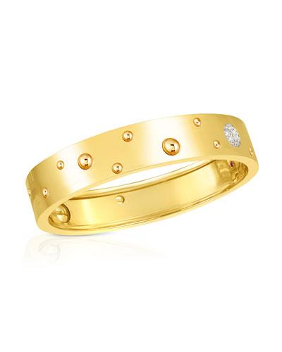 Pois Moi Luna 18k Yellow Gold Bangle