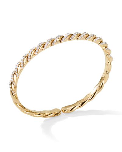 7e823bc1b Quick Look. David Yurman · Pave Flex 18k Gold & Diamond ...