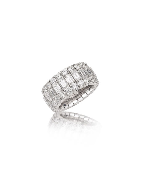 Picchiotti Xpandable Large Mixed-Cut Diamond Ring
