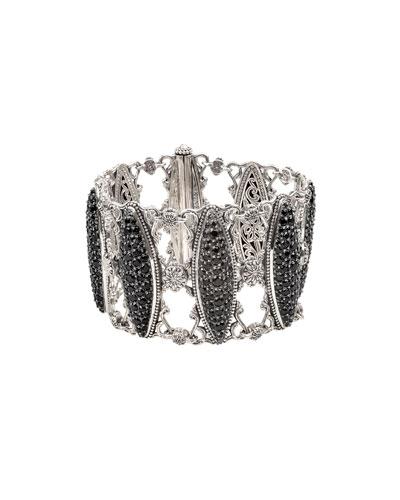 Black Spinel Marquise Bracelet