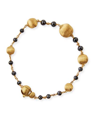 Africa 18k Black Diamond Bracelet