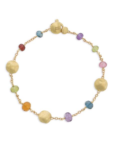 Marco Bicego Africa 18k Mixed Gemstone Bracelet