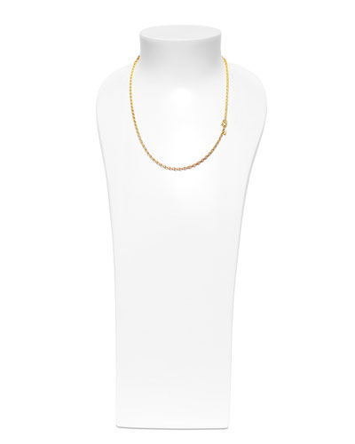 18K Yellow Gold Eight Chain Necklace, 20