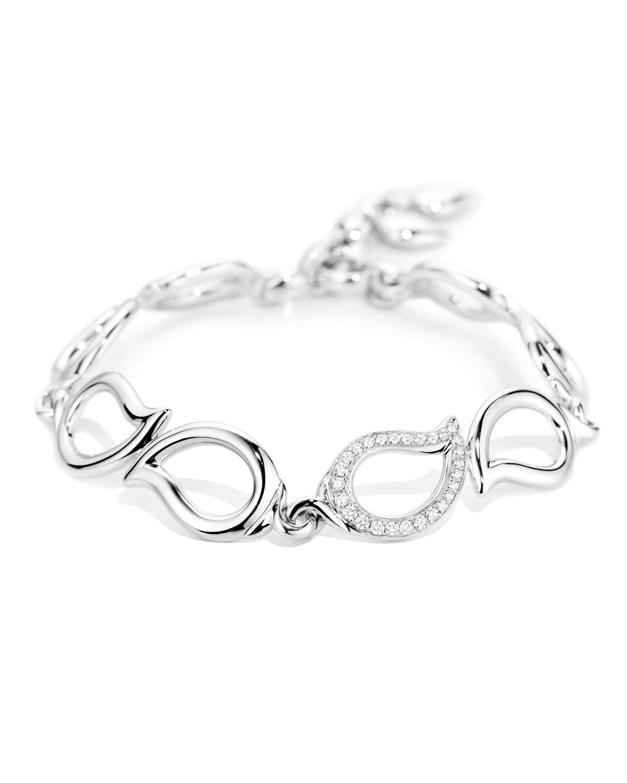 TAMARA COMOLLI Signature 18K White Gold Diamond Bracelet