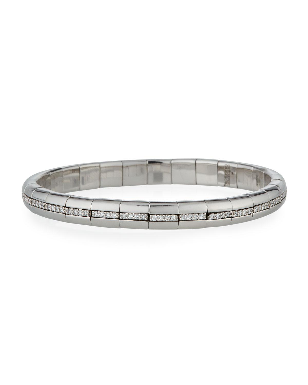 ROBERTO DEMEGLIO Pura Gold 18K White Gold Diamond Eternity Bracelet