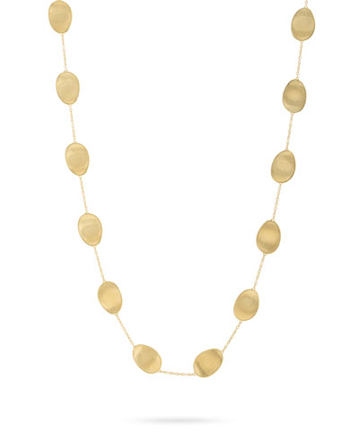 Lunaria 18k Long Chain Necklace