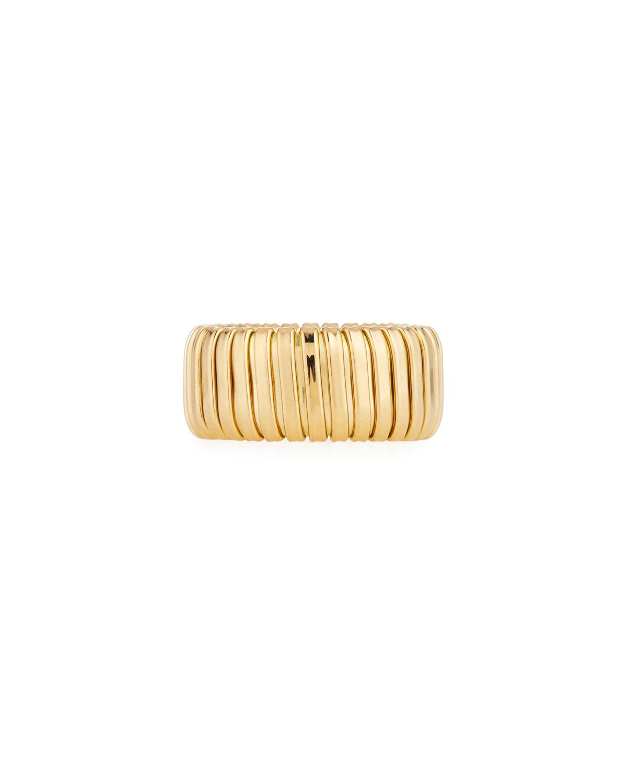 Via Bagutta 18k Gold Band Ring