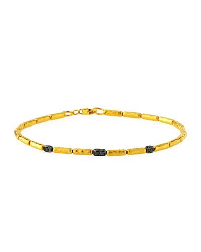 Vertigo Pave Black Diamond Bracelet