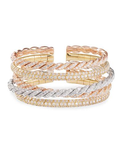 b139e8577 David Yurman Pave Diamond Bracelet | Neiman Marcus