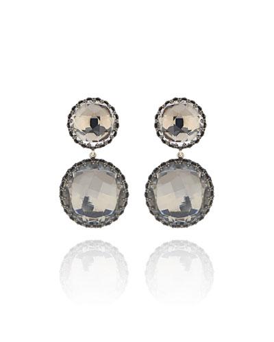 Olivia Convertible Drop Earrings, Dove