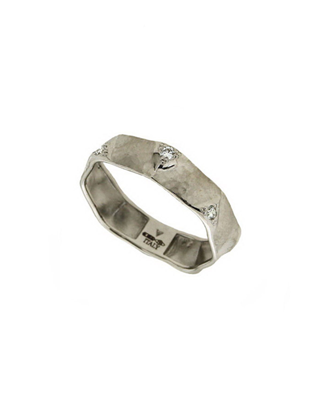 VENDORAFA Dune 18K White Gold & Diamond Ring