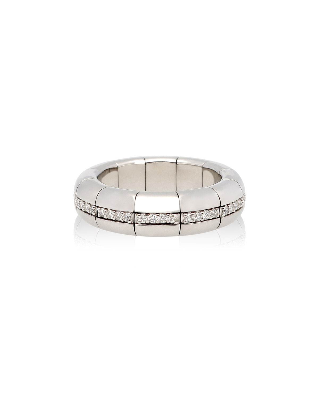 ROBERTO DEMEGLIO 18K White Gold Pura Diamond Eternity Band Ring