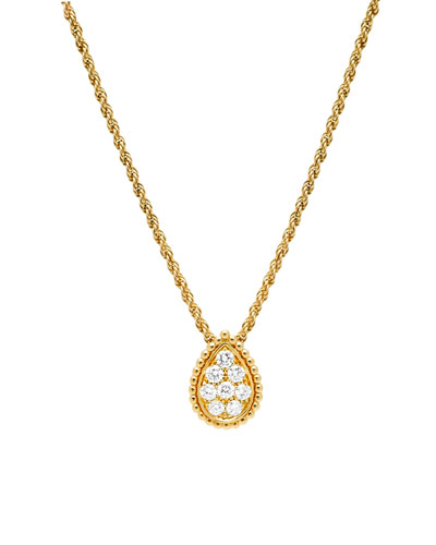 Serpent Boheme 18k Gold Diamond Necklace