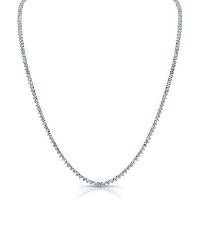 337b629e1f7137 Quick Look. Norman Silverman · Classic Opera 18k White Gold Diamond Tennis  Necklace ...