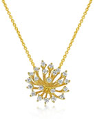 Hueb Luminus 18k Gold Diamond Pendant Necklace
