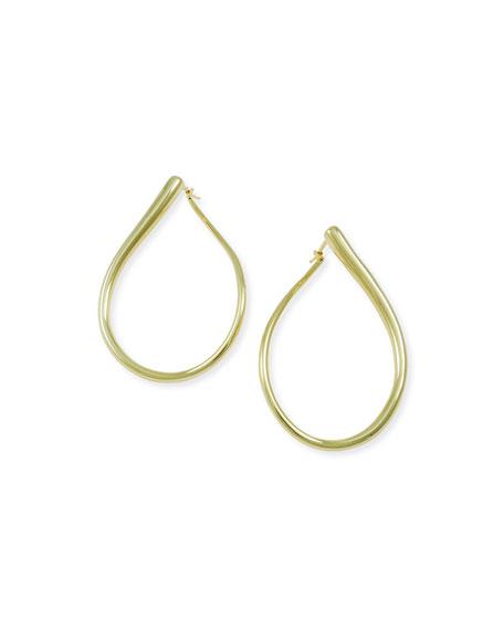 Alberto Milani Millennia 18k Rose Gold Electroform Pear Earrings