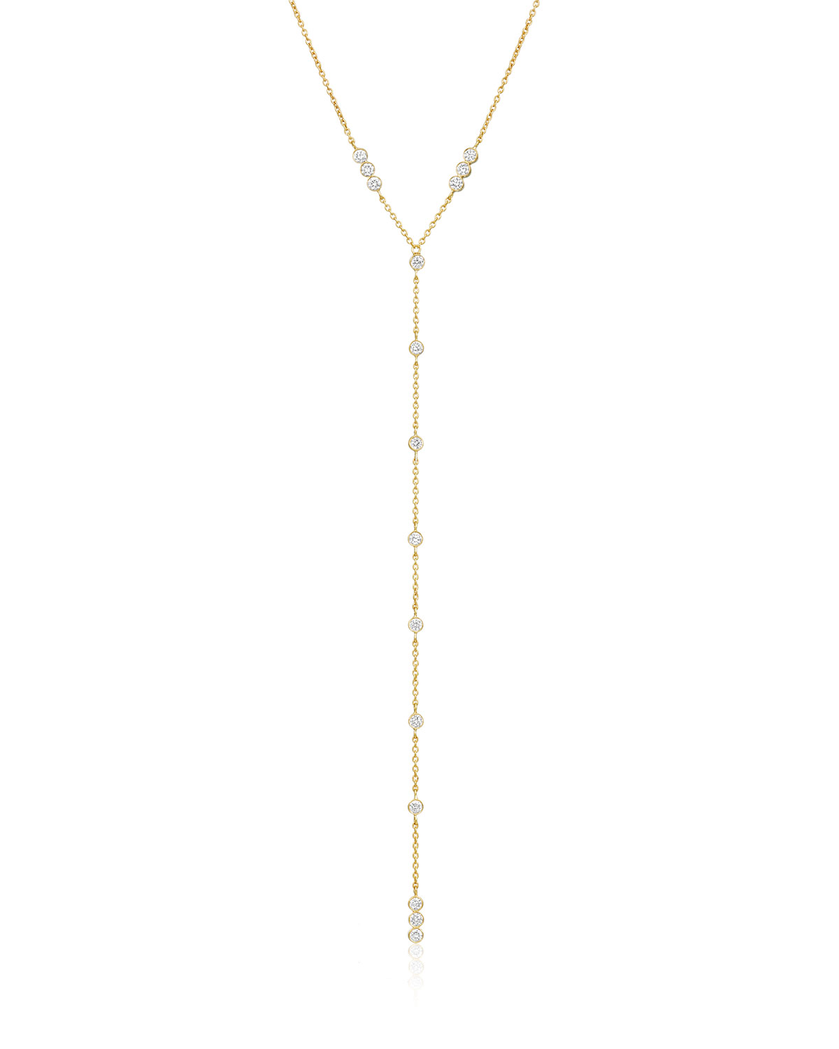 LEGEND AMRAPALI Tarakini Diamond Y-Drop Necklace